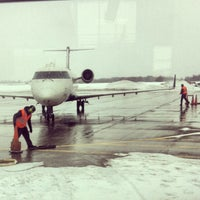 Photo taken at Central Wisconsin Airport (CWA) by Heather N. on 3/5/2013