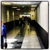 Photo taken at Vienna Airport Station by Helmut K. on 6/14/2013