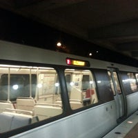 Photo taken at WMATA Red Line Metro by Julia Z. on 1/9/2013