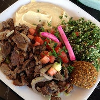 Photo taken at King of Falafel by Chelsea P. on 5/17/2014