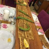 Photo taken at Konya Mevlana Etli Ekmek & Fırın Kebap Salonu by Murat A. on 11/14/2015