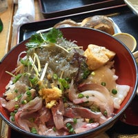 Photo taken at 磯料理 丸だい 仙水 by Keiko O. on 5/23/2015