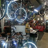 Photo taken at The Bicycle Cellar by Nick B. on 8/2/2013