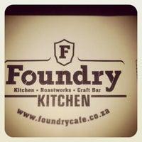 Снимок сделан в The Foundry Café пользователем Kobus P. 6/7/2013