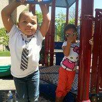 Photo taken at Washington (Harold) Memorial Park by Wanda W. on 5/16/2013