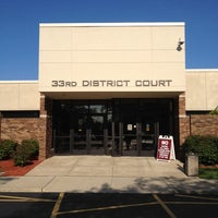 Photo taken at 33rd District Court by Brian J. P. on 6/17/2014