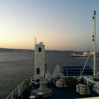 Photo taken at Porto di Villa San Giovanni by Rita N. on 10/20/2012