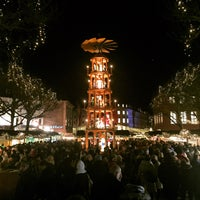 Photo taken at Mainzer Weihnachtsmarkt by Philip H. on 12/3/2016