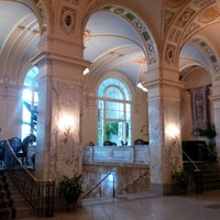 Photo taken at Hermitage Hotel by Mollie Q. on 7/15/2013
