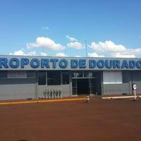 Photo taken at Aeroporto de Dourados (DOU) by Vagner N. on 4/5/2014