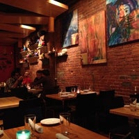 Photo taken at Zocalo Back Bay Mexican Bistro & Tequila Bar by Addie C. on 10/14/2012