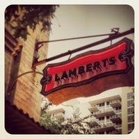 Photo taken at Lambert's Downtown BBQ by Kevin K. on 6/21/2013