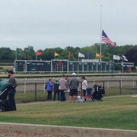 Photo taken at Suffolk Downs by Tiffany F. on 7/9/2016