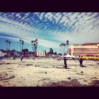 Photo taken at Santa Cruz Main Beach by Anna G. on 10/6/2012