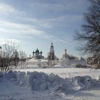 Photo taken at Свято-Введенский Толгский женский монастырь by Михаил К. on 2/23/2013