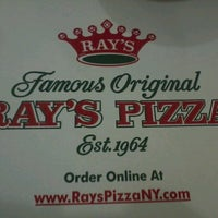 Photo taken at Famous Original Ray's Pizza by Todd P. on 12/30/2012