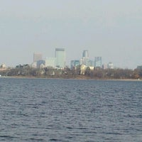 Photo taken at Lake Calhoun by Jennifer-Lyn T. on 11/9/2012
