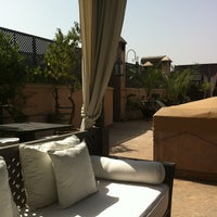 Photo taken at Riad Noir d'Ivoire by Anthony D. on 6/24/2013