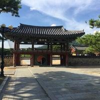 Photo taken at Tomb of King Suro by Wonho E. on 8/3/2017