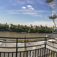 Photo taken at London Marriott Hotel County Hall by Kane W. on 5/13/2015