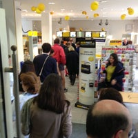 Photo taken at Deutsche Post by Constantin A. on 5/6/2013