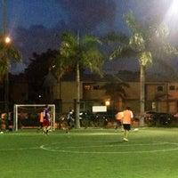 Photo taken at Downtown Soccer by Juan P. on 6/28/2014