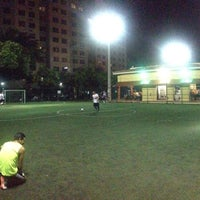Photo taken at Downtown Soccer by Juan P. on 8/23/2014