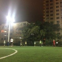 Photo taken at Downtown Soccer by Juan P. on 1/4/2014