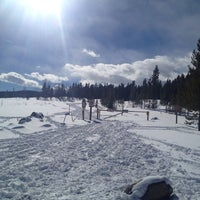 Photo taken at West Mag Trailhead by Michael E. on 2/23/2014