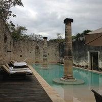 Photo taken at Hacienda Uayamon, a Luxury Collection Hotel, Uayamon by Adriana G. on 3/26/2013