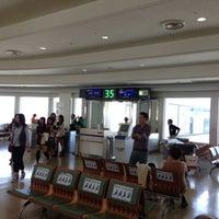 Photo taken at Gate 35 by doukita on 10/21/2012