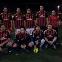 Photo taken at SEDE AC.MULAN  Amigos Del Futbol by Mauricio c. on 6/10/2013
