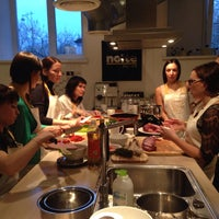 Photo taken at Кулинарная школа CookBook by Alexandra M. on 4/9/2015