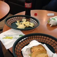 Photo taken at Subway by Christian G. on 11/25/2013