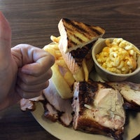 Photo taken at Monroe's Smokehouse BBQ by Carlos G. on 11/7/2013