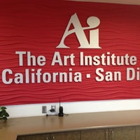 Photo taken at The Art Institute of California - San Diego by Corina B. on 5/18/2013