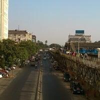 Photo taken at Charni Road Railway Station by Saquib Z. on 12/1/2012