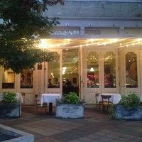 Photo taken at Annies Café & Bar by Melanie C. on 10/5/2013