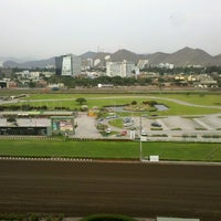 Photo taken at Hipódromo de Monterrico by Julio M. on 3/7/2013