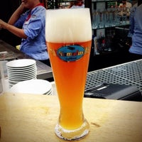 Photo taken at Airbräu Brauhaus by F. Scott W. on 7/26/2013
