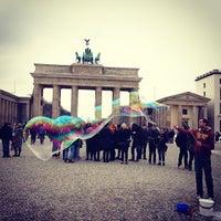 Photo taken at Pariser Platz by Andrey K. on 3/21/2013