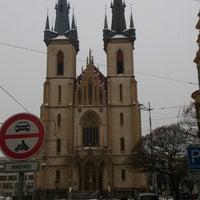 Photo taken at Strossmayerovo náměstí (tram) by Sergey F. on 1/17/2013