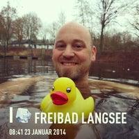 Das Foto wurde bei Freibad Langsee von Fritz am 1/23/2014 aufgenommen