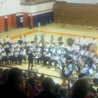Photo taken at Mahomet-Seymour High School by Russell C. on 11/16/2012