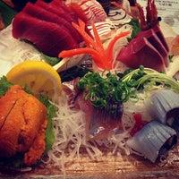 Photo taken at Sushi King by Adam M. on 4/4/2013