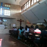 Photo taken at Gereja Katolik Salib Suci by Viky H. on 9/1/2013
