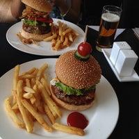 Photo taken at New York Style Steak & Burger by Julie P. on 5/26/2013