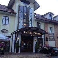 Photo taken at Hotel Pruski - Wellness&SPA by Vasily M. on 7/11/2013