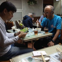 Photo taken at Wing Wah Noodles Shop by Hiroshi O. on 11/25/2012
