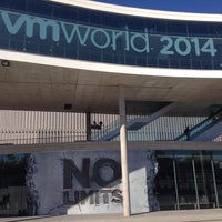 Photo taken at #VMworld 2014 Conference by Elena F. on 10/13/2014